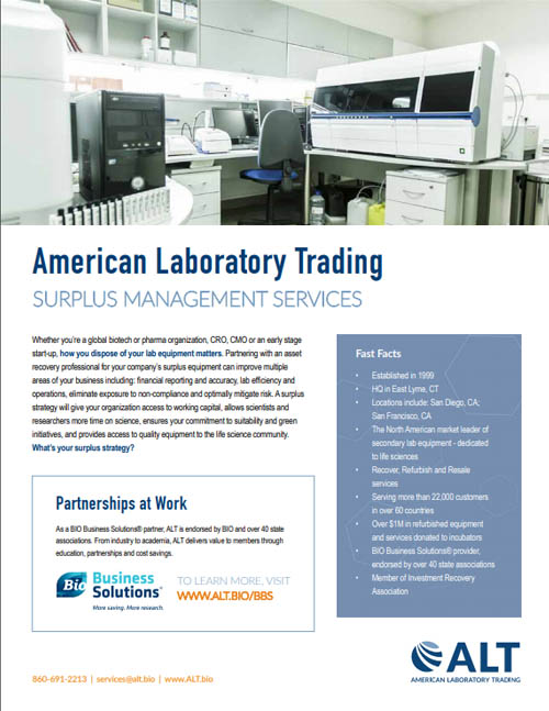 Surplus lab services